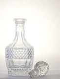 Crystal decanter Stock Photos