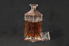Crystal Decanter Imagem de Stock Royalty Free