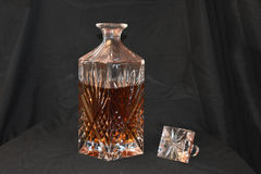 Crystal Decanter photo stock