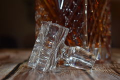 Crystal Decanter image stock
