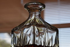 Crystal Decanter photographie stock