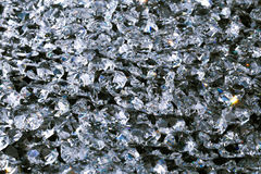 Crystal decoration Stock Images