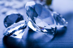 Crystal diamond Stock Image