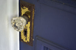 Crystal Door Knob fotografia de stock royalty free