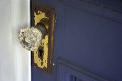 Crystal Door Knob Fotografia Stock Libera da Diritti