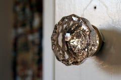 Crystal Door Knob d'annata Immagine Stock Libera da Diritti