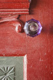 Crystal Doorknob Stock Foto's