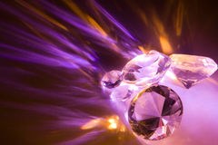 Crystal effect Stock Images