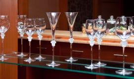 crystal exponeringsglas Royaltyfri Foto