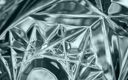 Crystal exponeringsglas Arkivfoto
