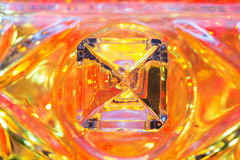 Crystal exponeringsglas Arkivbild