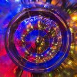 Crystal exponeringsglas Royaltyfria Foton