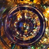 Crystal exponeringsglas Arkivbilder