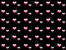 crystal förälskelsewallpaper Royaltyfri Bild