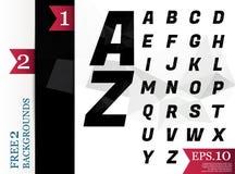Crystal Font polygonal alphabet Background geometric pattern. Crystal Font polygonal alphabet Background geometric pattern of triangles.eps.10 Stock Photo