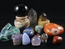 Crystal Gems Collection immagine stock libera da diritti