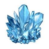 Crystal Gemstone illustrazione di stock