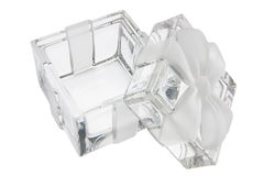 Crystal Gift Box Royalty Free Stock Photography