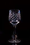Crystal glass Royalty Free Stock Images