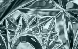 Crystal Glass Stockfoto