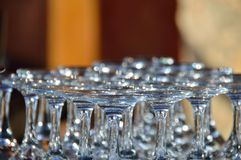 Crystal Glass Fotografia de Stock