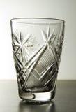 Crystal glass beaker Stock Image