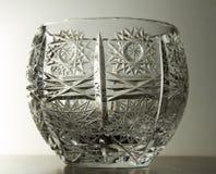 Crystal Glass Bowl Royalty Free Stock Photo