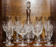 Crystal Glass Collection Royalty Free Stock Photos