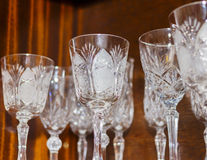 Crystal Glasses Stock Photos