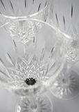 Crystal Glassware Royalty Free Stock Image