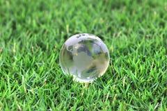 Crystal globe Royalty Free Stock Image