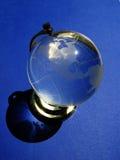 Crystal globe Royalty Free Stock Photography
