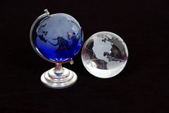 Crystal Globes Stock Images