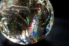 Crystal glowing sphere Royalty Free Stock Photography