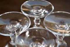 Crystal goblet Stock Image