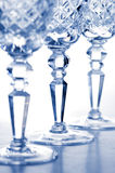 Crystal goblets Royalty Free Stock Photo