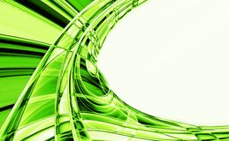 Crystal green abstract background Royalty Free Stock Photo