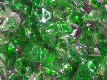 Crystal green background Royalty Free Stock Image