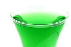Crystal Green Drink Royalty Free Stock Photography