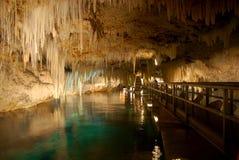 Crystal grottor Bermuda Fotografering för Bildbyråer