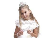 crystal häftklammermatare Royaltyfri Fotografi