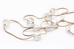 Crystal halsband Royaltyfria Bilder