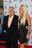 Crystal Harris,Hugh Hefner Royalty Free Stock Photos