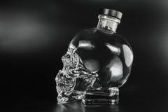 Crystal head bottle Stock Photos