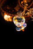 Crystal heart Royalty Free Stock Photo