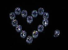 Crystal Heart Photos stock