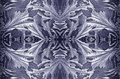 Crystal ice. Crystal-like ice pattern Royalty Free Stock Image