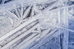 Crystal ice Stock Photography