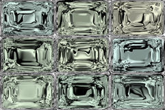 Crystal or ice or glass tiles background Royalty Free Stock Photography