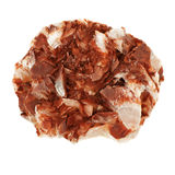 Crystal with iron oxide Stock Photos